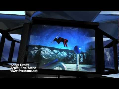 2012 ESPN Winter X Games opening video - music by Five Stone