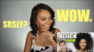 ONISION BLACK HAIR SERIES? HAIRDRESSER REACTS! | Brittney Gray