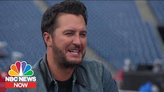 Luke Bryan's Favorite Shower Song | NBC News Now