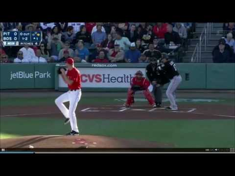 Chris Sale fans three over four innings: 3/16/17