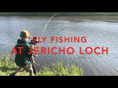 Flyfishing At Jericho Loch