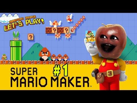 Midget Apple Plays - Mario Maker #1: Save the Princess!