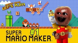 Midget Apple Plays - Mario Maker #1: Save the Princess!