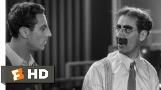Horse Feathers (2/9) Movie CLIP - Advice for Dad (1932) HD