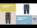 Baby Girls Jeans Collection By Carter's
