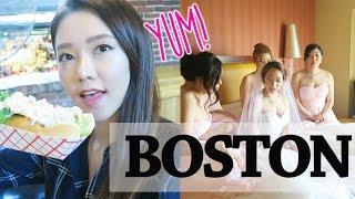 BOSTON VLOG | DAYS 1-4 ~ Arriving, Quincy, Harvard, Friend