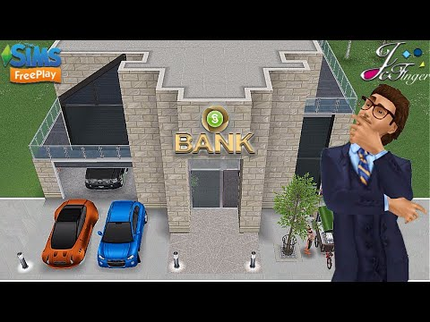Sims FreePlay 💰🏦| BANK |🏦💰 request by Kaebsong Baekhyunie.