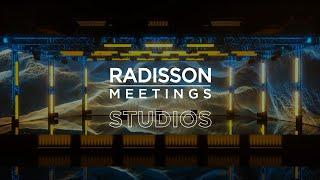 Broadcasting studios - Radisson Meetings