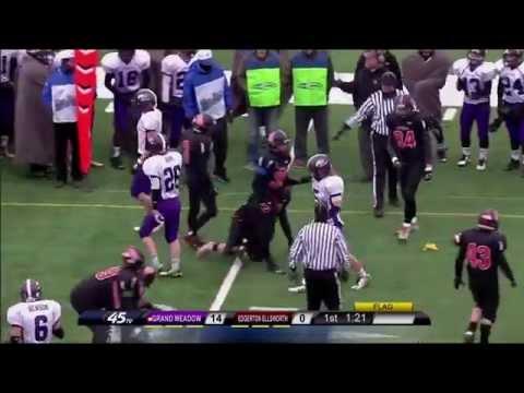 Prep Football: Grand Meadow vs Edgerton-Ellsworth, Prep Bowl (11/21/2014)