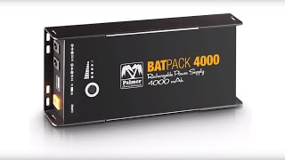 Palmer Germany at prolight + sound 2016 - BATPACK RECHARGEABLE BATTERY POWER SUPPLY