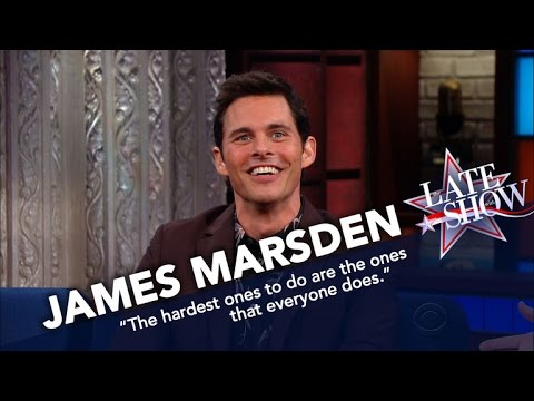 James Marsden's Matthew McConaughey Impression Is Glorious