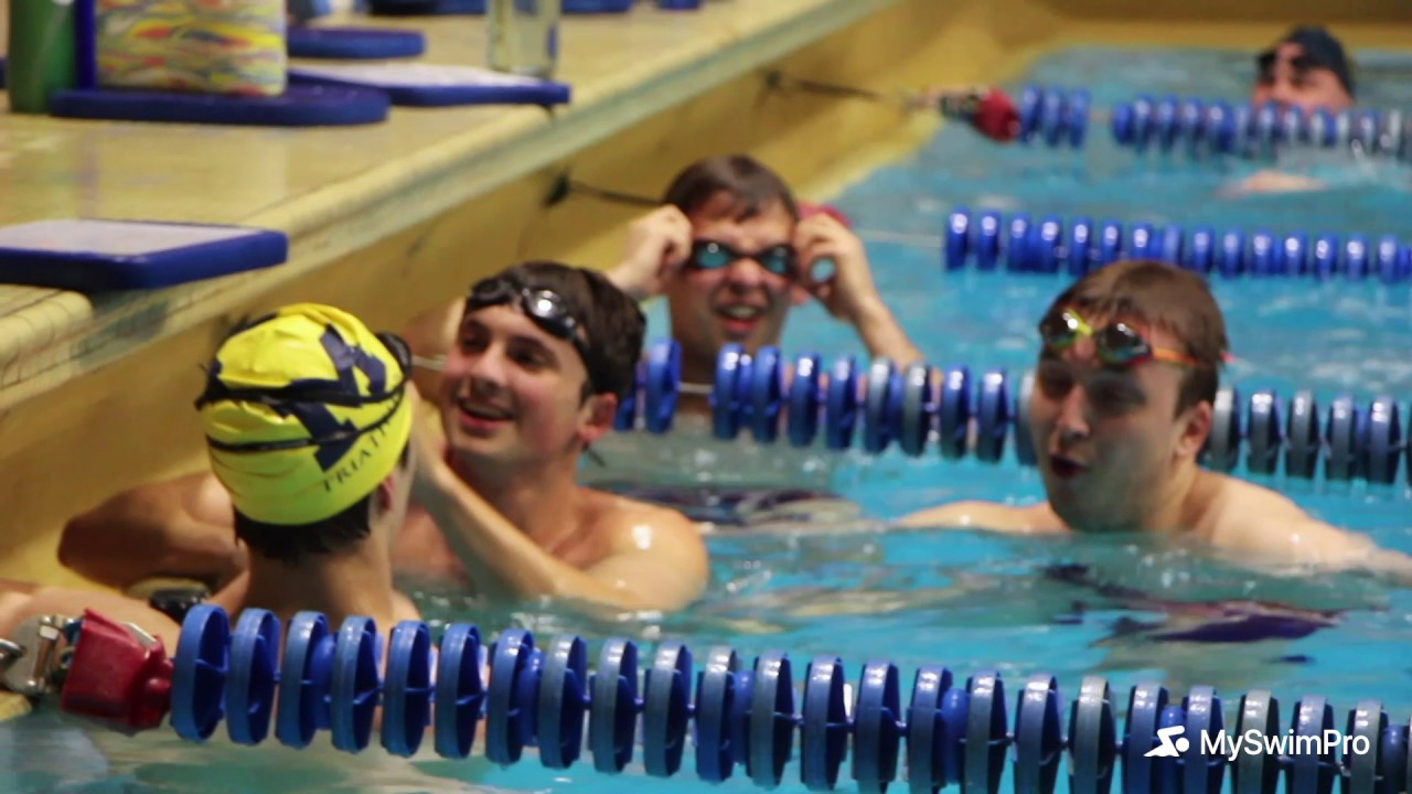 University of michigan club swim team swam youtube - University of michigan swimming pool ...