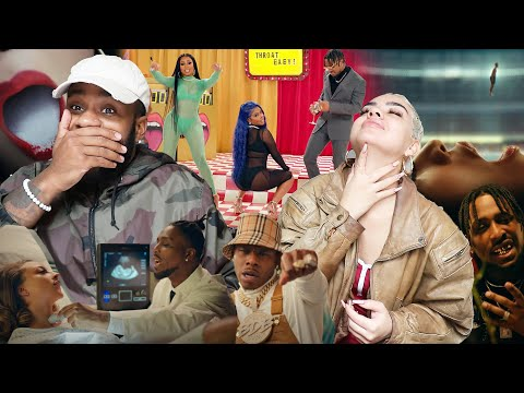 👅💦👼🏾 | BRS Kash – Throat Baby Remix feat. @DaBaby and @City Girls [Official Music Video] [REACTION]