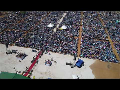JMJ MADA 9 (Drone Video) Fermeture à Belobaka - Majunga - Madagascar