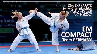 KARATE EM Compact 2017 European Championships Team GERMANY