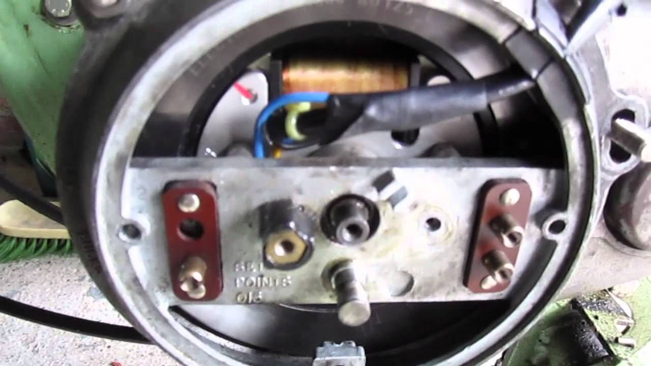 An Generator Wiring Diagram Bsa Bantam D1 Electrex Ignition Youtube