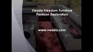 Veada Freedom Pontoon Boat Seat Restoration
