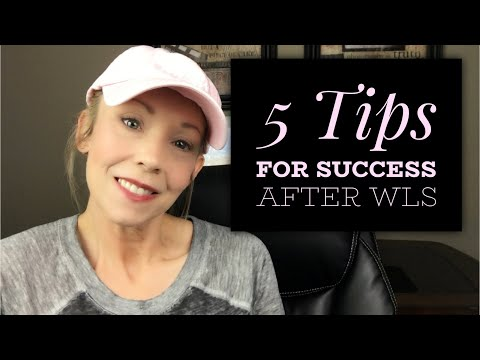 5 TIPS FOR SUCCESS AFTER WEIGHT LOSS SURGERY Ll GASTRIC BYPASS