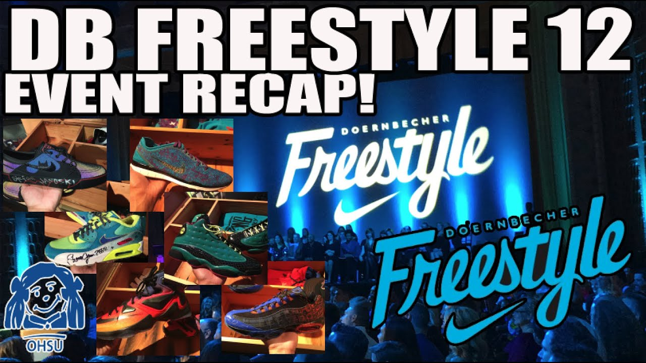 2015 Nike Doernbecher Freestyle 12 (XII) Event Live Auction Recap! - YouTube 32a6b8bbf
