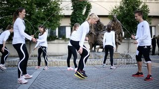 Jump Rope Team - Hungary's Best Rope Skipping Team(For more crazy videos, subscribe to our channel here: http://goo.gl/pM2Clk Like Inspiri Productions' page: http://facebook.com/InspiriProd The ropeskipping team ..., 2013-06-13T20:21:38.000Z)