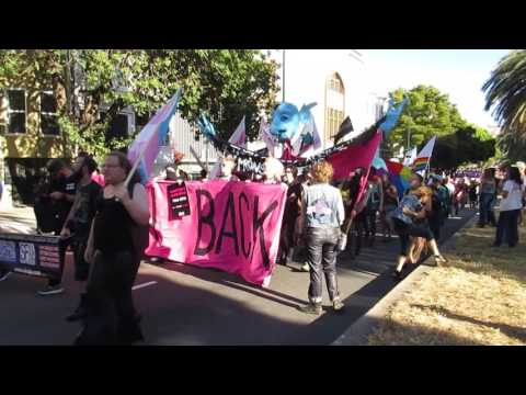 Trans March 2016 San Francisco California