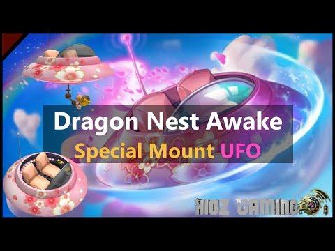Dragon nest Awake - Special Mount UFO