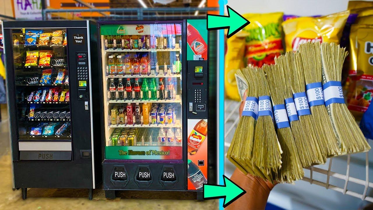 Makin Cuan, Seberapa Untung sih Berjualan Memakai Vending Machine?