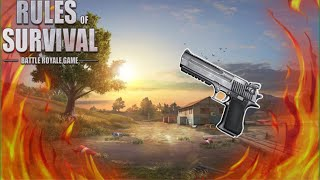 PISTOL ONLY CHALLENGE (Rules of Survival: Battle Royale)