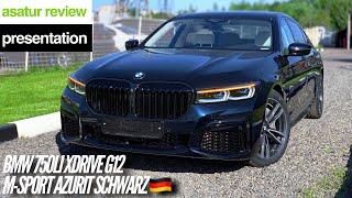 BMW 750Li xDrive G12 M-sport Facelift Azurit Schwarz 2019
