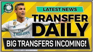 TRANSFER NEWS LATEST LIVE | RONALDO AGUERO BATSHAUYI & MORE!