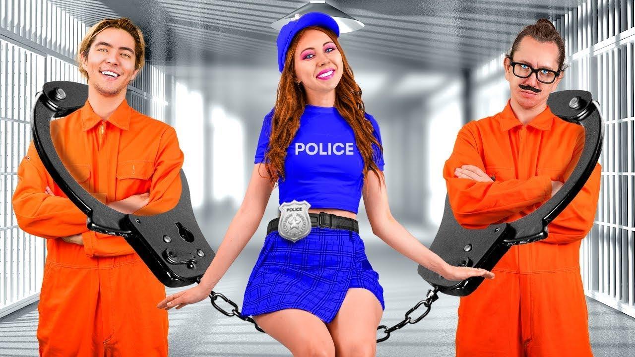 POLİS KIZDAN HOŞLANIYORUM - Okulum Tam Bir Hapishane | La La Dünya - Eğlenceli İlişki Sorunları