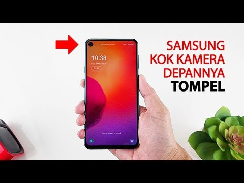 Buka box SAMSUNG GALAXY A8s Indonesia, kok begini?