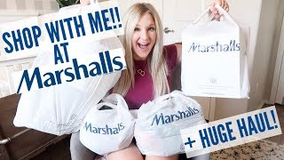 SHOP WITH ME AT MARSHALLS | CLOTHING, SHOES, and HOME DECOR HAUL!