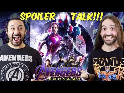 Avengers: Endgame - SPOILER TALK!!! (Act By Act BREAKDOWN)