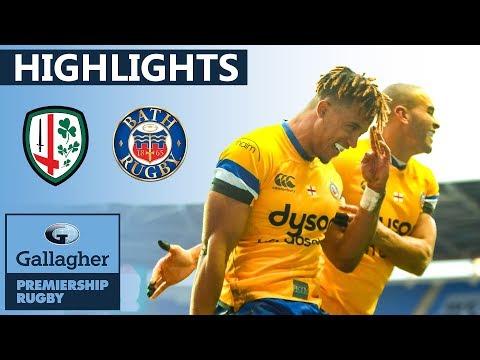 London Irish V Bath HIGHLIGHTS | First Half Blitz Secures Points | Gallagher Premiership