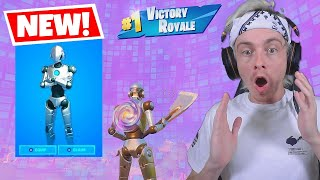 using a unreleased fortnite skin to win... (0 people have it)