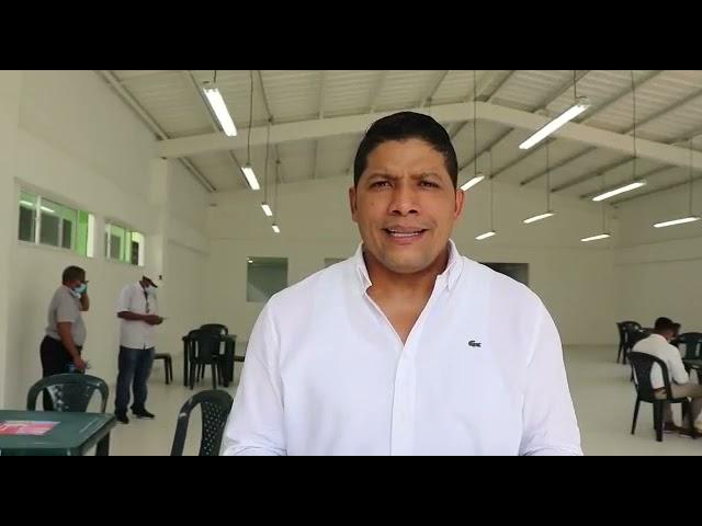Alcalde de Malambo entregó oficialmente comedor escolar en Caracolí