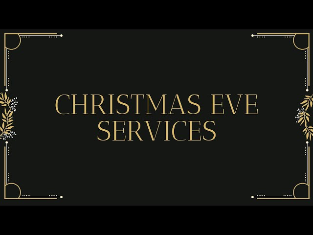 Christmas Eve at Desert Hills Bible Church