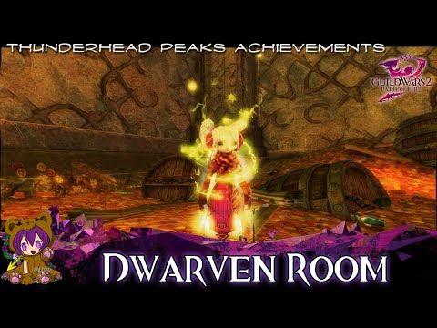 GW2 - Dwarven Room Raider, No One Was Using It Anyway, Grand Prize, Ironhammer Throne achievements