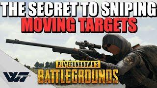 GUIDE: The SECRET to sniping MOVING TARGETS (Kar98k + M24) - PUBG