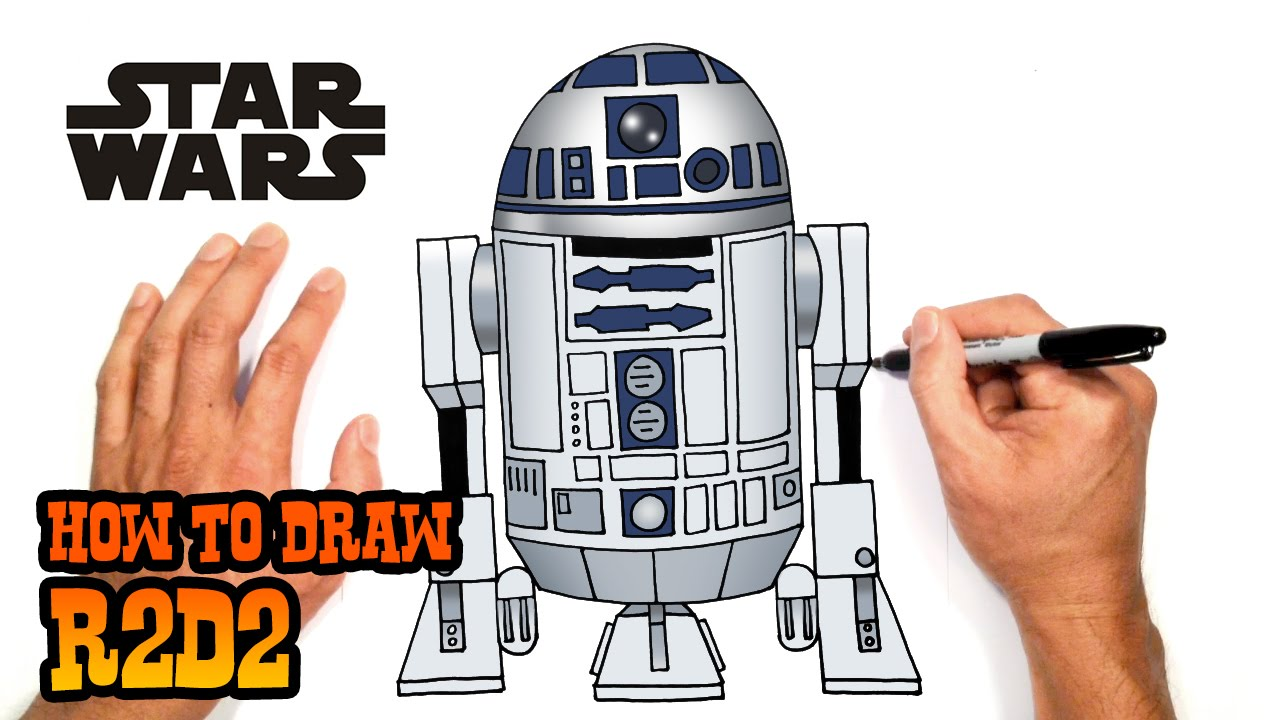 How To Draw R2d2 Star Wars Youtube For More Photos Diagrams And Tutorials Of His Cool Origami War