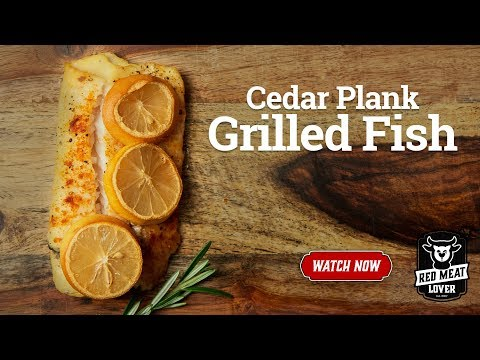 Grilled Cod On Cedar Plank - Recipe For Cedar Plank Salmon Or Cod