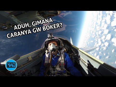 Video: Bagaimana cara buang air besar di pesawat tempur