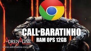 PC Baratinho e seus apenas 4GB vs Call of Duty: Black Ops III