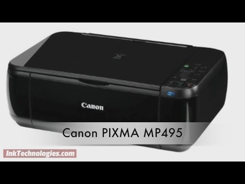CANON MP495 SERIES PRINTER DRIVERS FOR PC