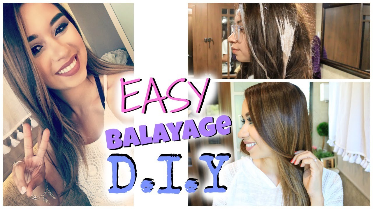 How To Diy Balayage Hair At Home Step By Step Beauty News With