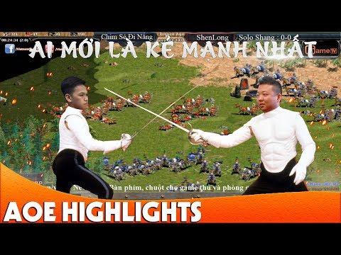 """Chim Sẻ Đi Nắng vs Shenlong """"Ai Mới Là Kẻ Mạnh Nhất""""   AoE Highlight"""
