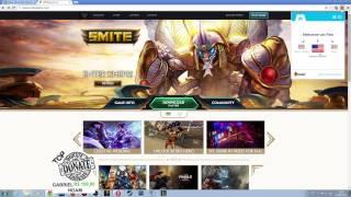 SMITE BRASIL - Como criar conta e baixar o SMITE NA!