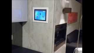 אקזוטק בטון –חיפוי פנימי דקורטיבי בתצוגת בית חכם  הרצליה