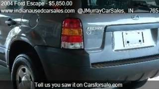 2004 Ford Escape XLS Sport Utility 4D - for sale in Lafayett
